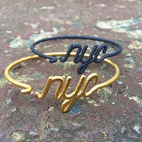 Small Wire New York City (NYC) Bracelet 3D Printing 17844