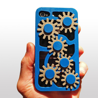 Small Mechanical Gear Iphone Case 4/4s 3D Printing 178468