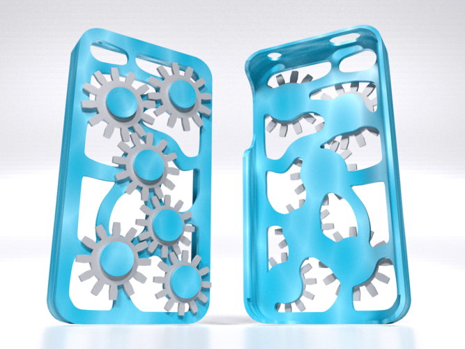 Mechanical Gear Iphone Case 5/5s 3D Print 178470