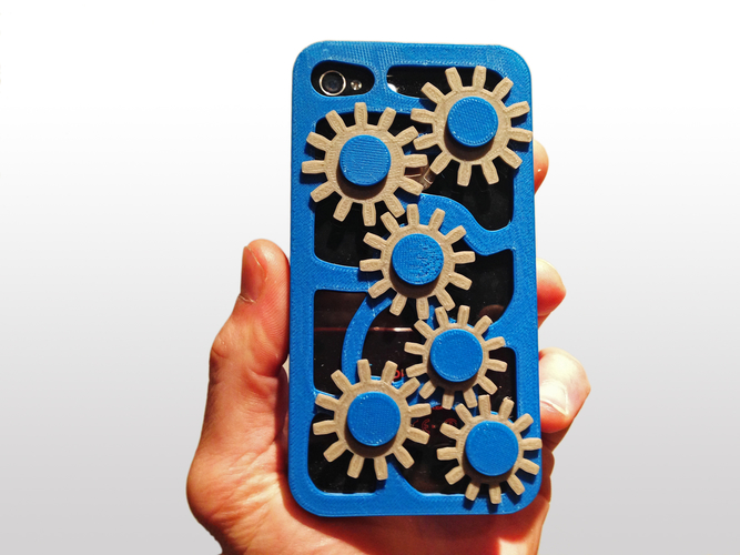 Mechanical Gear Iphone Case 5/5s 3D Print 178471