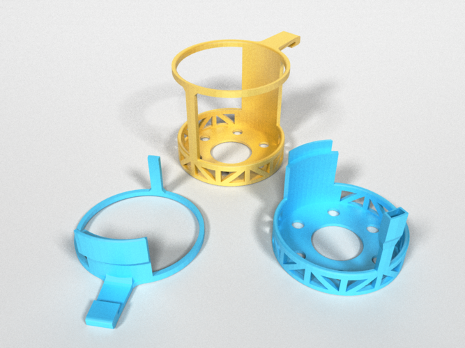 Car Cup Holders 3D Print 178476
