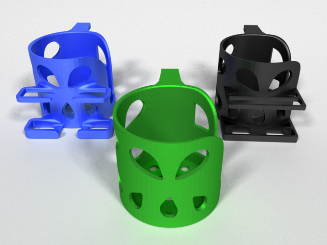 Car Cup Holders 3D Print 178477