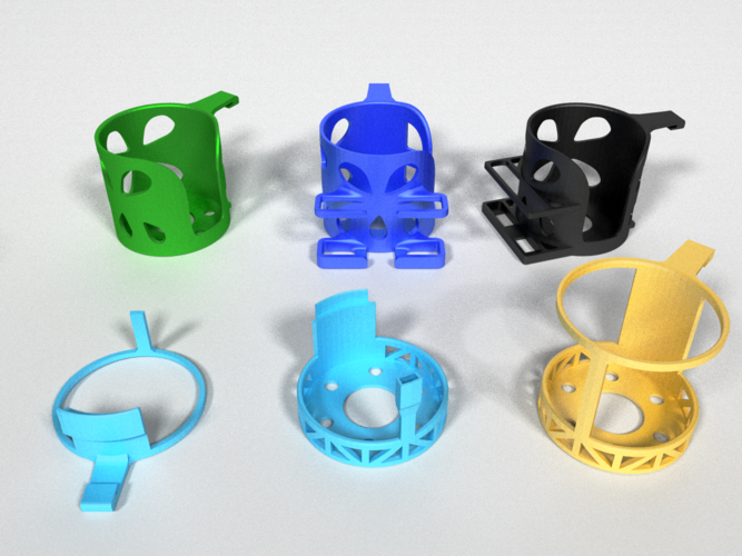 Car Cup Holders 3D Print 178479