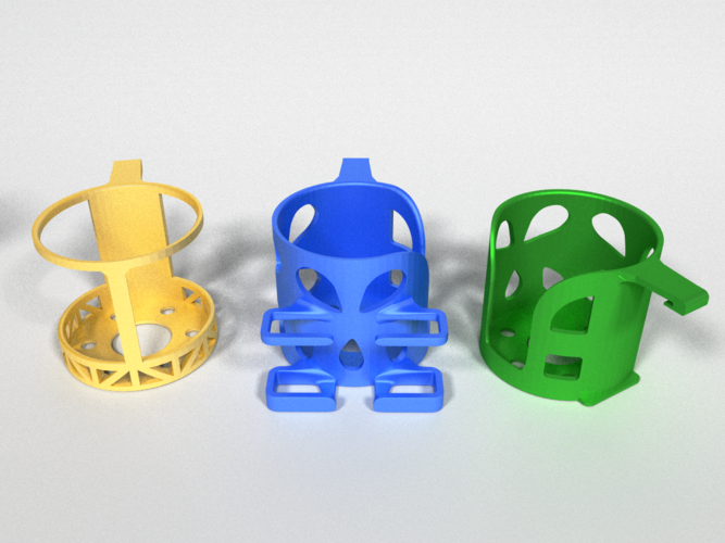 Car Cup Holders 3D Print 178480