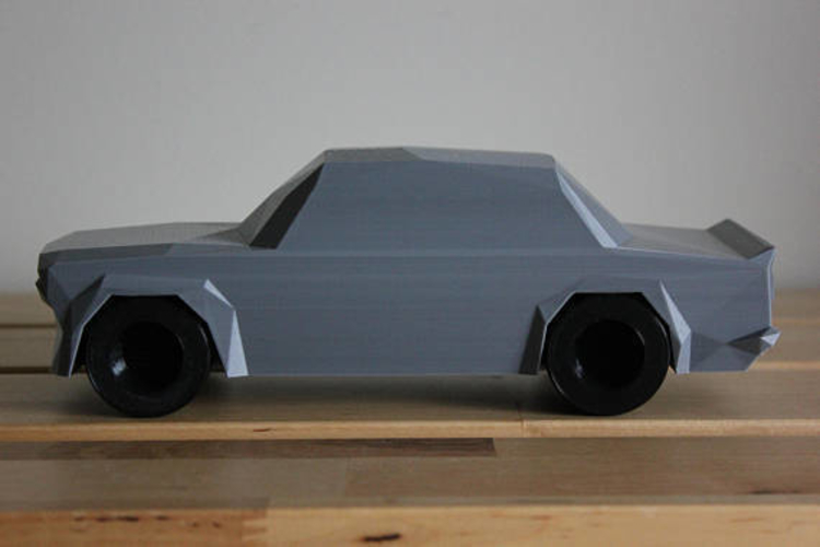 Low Poly 1973 BMW 2002 Turbo 3D Print 178587