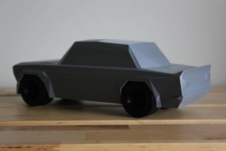 Low Poly 1973 BMW 2002 Turbo 3D Print 178588