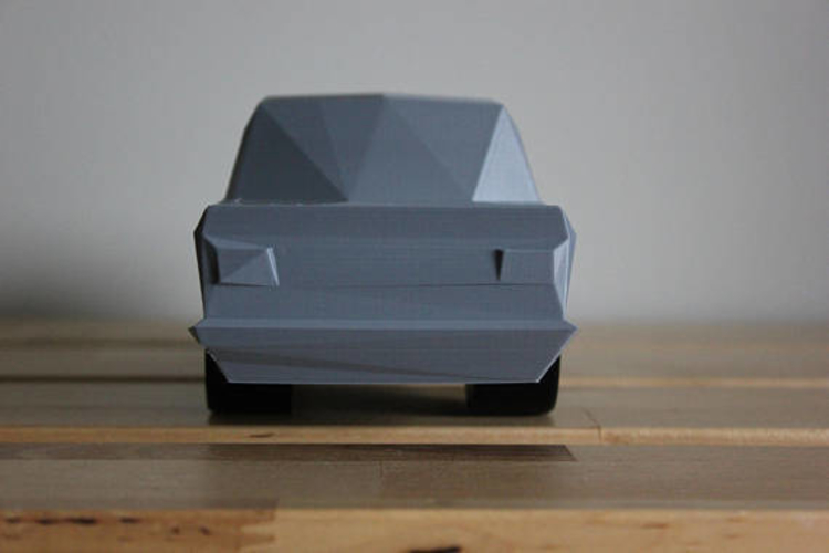 Low Poly 1973 BMW 2002 Turbo 3D Print 178589