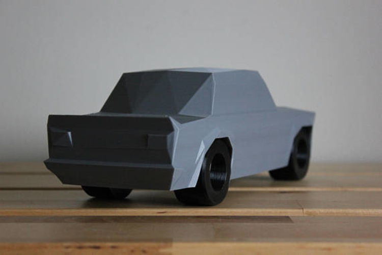 Low Poly 1973 BMW 2002 Turbo 3D Print 178590