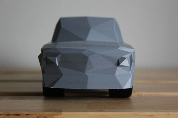 Low Poly 1973 BMW 2002 Turbo 3D Print 178593
