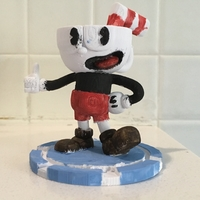 Small Cuphead 3D Printing 178596