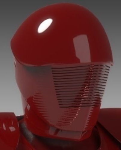 Pretorian Guard Star Wars Episode VIII 3D Print 178688