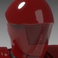 Small Pretorian Guard Star Wars Episode VIII 3D Printing 178688