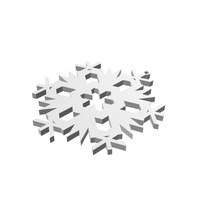 Small Christmas Snowflake Ornament_4 3D Printing 178700