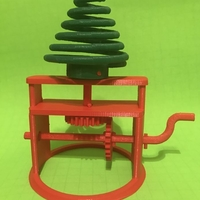 Small Spinning Tree Automata 3D Printing 178820