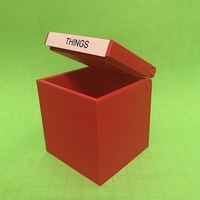 Small Hinged Box - Print in Place 3D Printing 178822