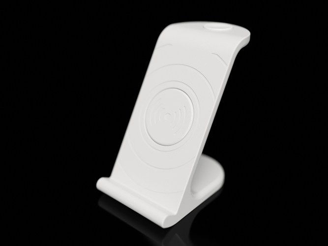 $10 IPhoneX Wireless Charging Stand 3D Print 178866