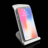 Small $10 IPhoneX Wireless Charging Stand 3D Printing 178873