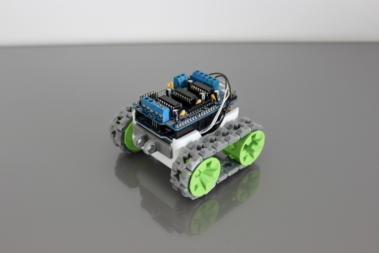 3D Printed SMARS modular robot by Kevin_T | Pinshape