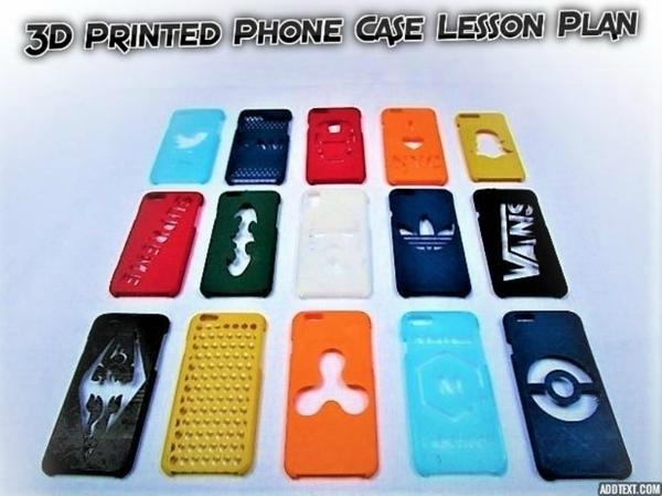 Medium 3D Printed Phone Case Lesson Plan 3D Printing 178972