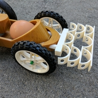 Small Crumple Zone Crash Test Car 3D Printing 178997