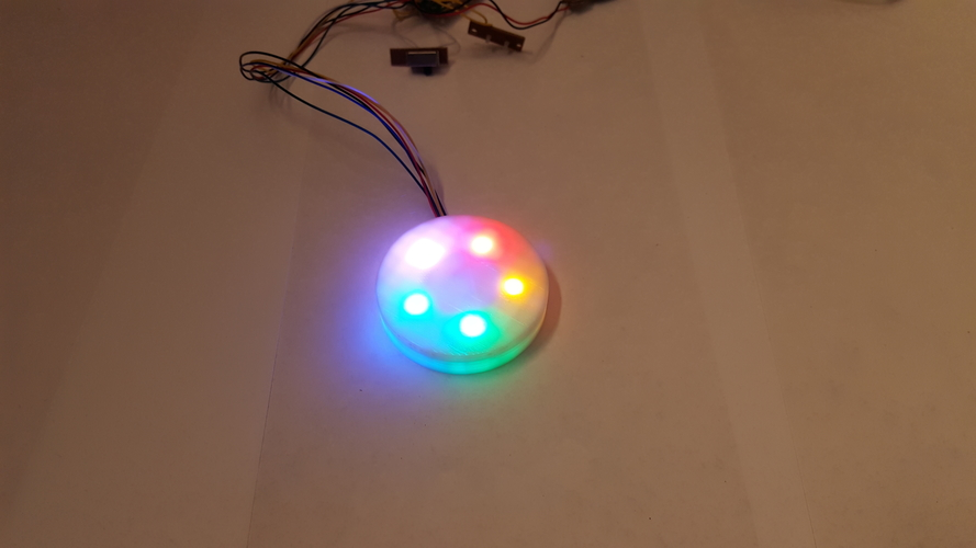 Simple LED Base for lamp shades 3D Print 179008