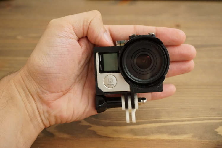 GoPro Ring Mount V3.0 3D Print 179025