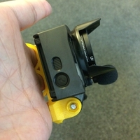 Small GoPro hand mount 3D Printing 179028