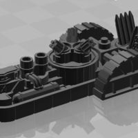 Small Concord Class Light Cruiser 3D Printing 179047