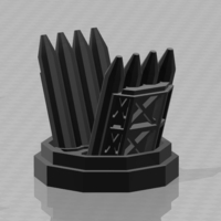 Small American Rocket Battery 3D Printing 179051