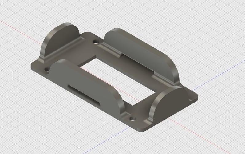 ZMR250 battery holder up to 73x34mm 3D Print 179065