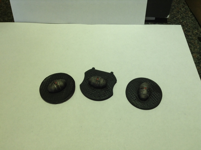 X-Wing - Alternative 3D Cluster Mine Tokens 3D Print 179187