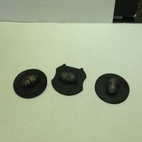 Small X-Wing - Alternative 3D Cluster Mine Tokens 3D Printing 179187