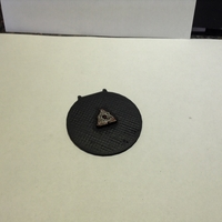 Small X-Wing -  Alternative 3D Proximity Mine Token 3D Printing 179189