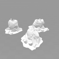 Small Battlefield - Radioactive Bug Nests  3D Printing 179217