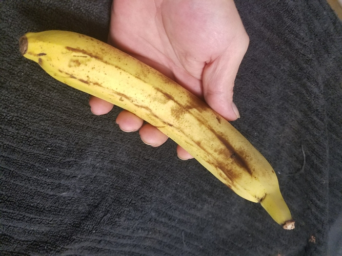 High Resolution Scan of a Banana. Yes, a Banana. 3D Print 179244