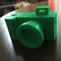 Small Toy camera - No support needed 3D Printing 179372