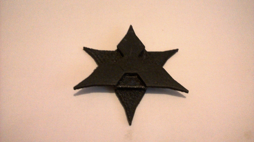 Interlocking Throwing Stars 3D Print 179463