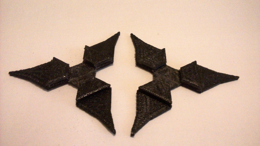 Interlocking Throwing Stars 3D Print 179464