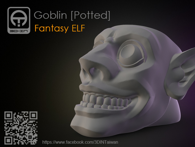 Goblin_Potted 3D Print 179518