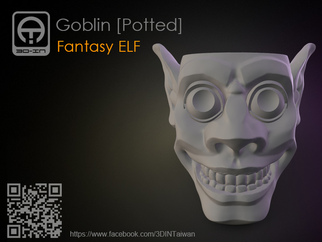 Goblin_Potted 3D Print 179520