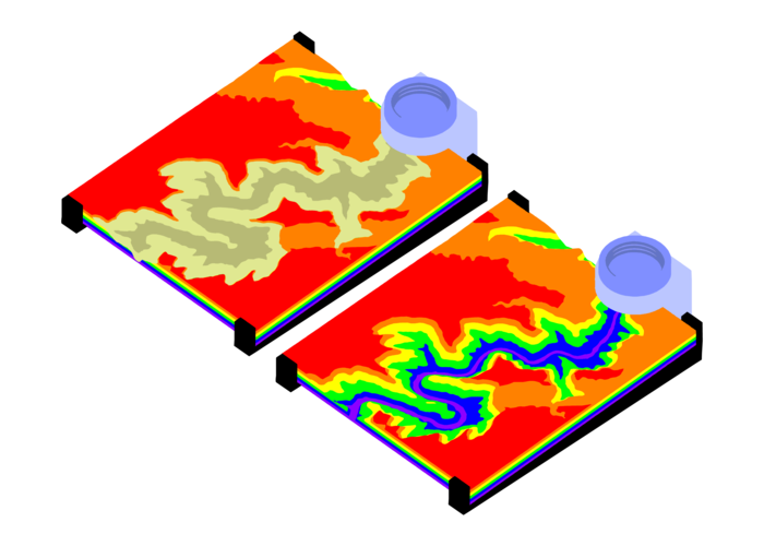 Modeling Topography and Erosion with 3D Printing 3D Print 179562