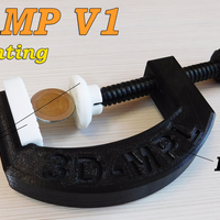 Small CLAMP V1 (3D-MPL) 3D Printing 179584