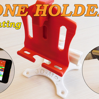 Small PHONE HOLDER (3D-MPL) 3D Printing 179621