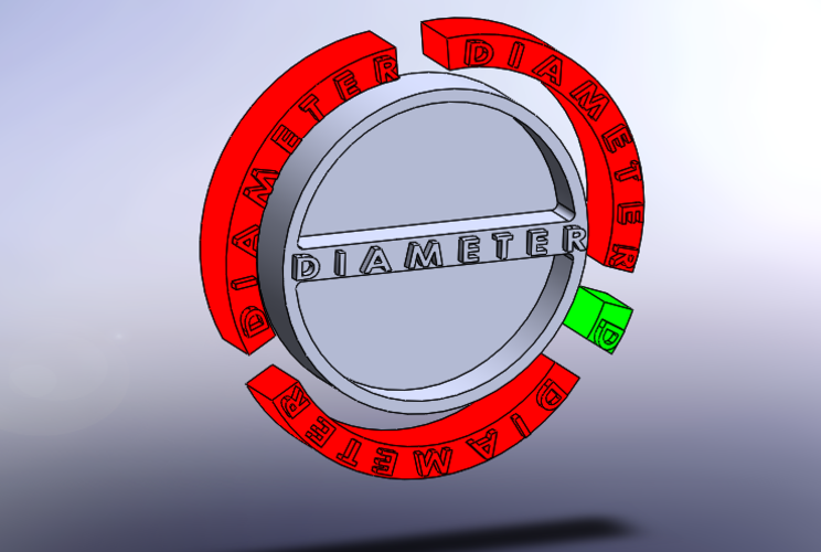 'Pi' constant_educational 3D Print 179662