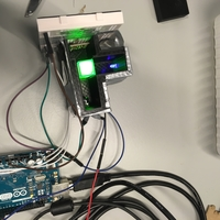 Small DIY spectrophotometer by using Arduino and 3D printer 3D Printing 179684