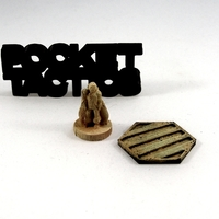 Small Pocket-Tactics Wandering Mage 3D Printing 1797