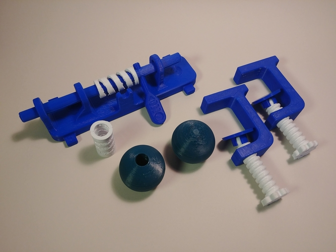Shoot & Drop - Physics Experiment 3D Print 179745