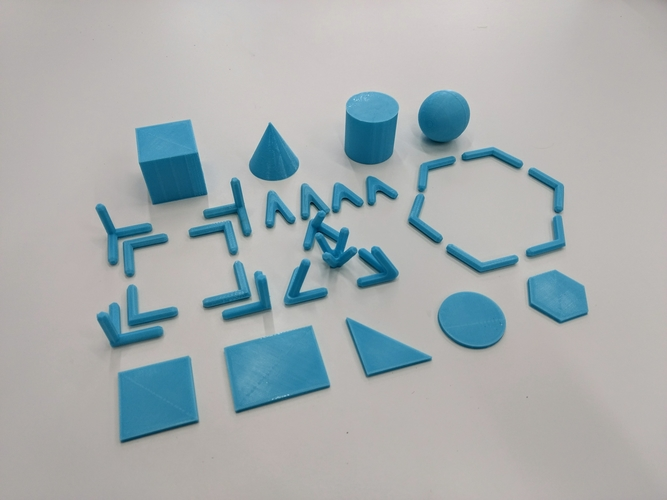 Geometric Build Kit 3D Print 179861
