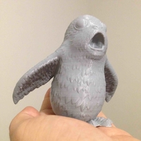 Small Porg Star Wars The Last Jedi 3D Printing 179885