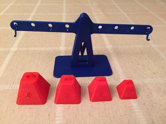 Lever principle and Equilibrium 3D Print 179921